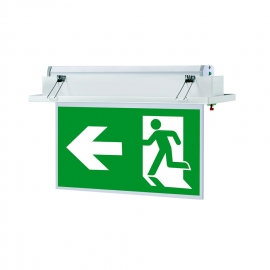 Signal emergency exit luminaire smlighting